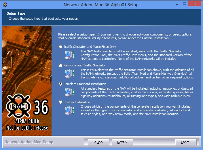 Network Addon Mod - Installation Instructions and Options